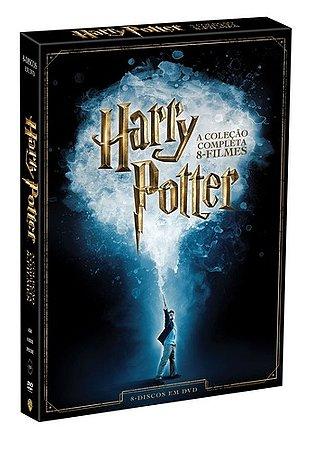 Box Harry Potter Coleção 8 Dvds