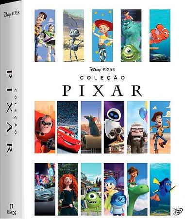 Dvd Pixar Coleção 17 Filmes