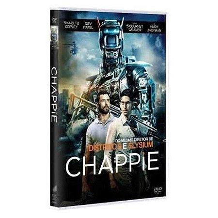 Dvd - Chappie - Com Hugh Jackman