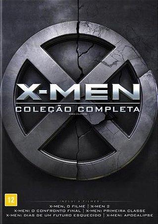 Blu-Ray X-Men Coleção Completa (6 Discos)