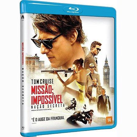 Blu-Ray - Missão Impossível: Nação Secreta
