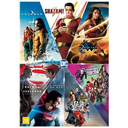 DVD Box - Coleção DC: 7 Filmes