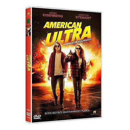 DVD AMERICAN ULTRA - ARMADOS E ALUCINADOS