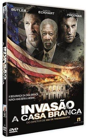 DVD INVASÃO A CASA BRANCA