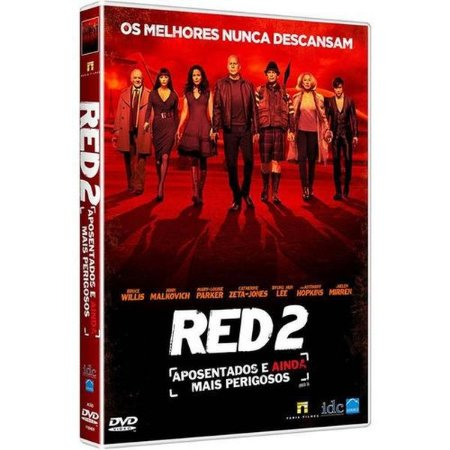 DVD RED 2 - APOSENTADOS E AINDA MAIS PERIGOSOS