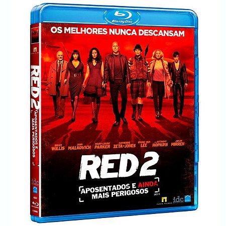 Blu Ray RED 2 - APOSENTADOS E AINDA MAIS PERIGOSOS