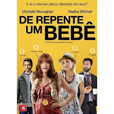 DVD De Repente Um Bebe - MICHELLE MONAGHAN