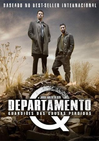 DVD Departamento Q - Guardiões Das Causas Perdidas - Nikolaj Lie Kaas