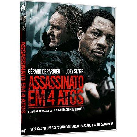 DVD - Assassinato em Quatro Atos - Gérard Depardieu