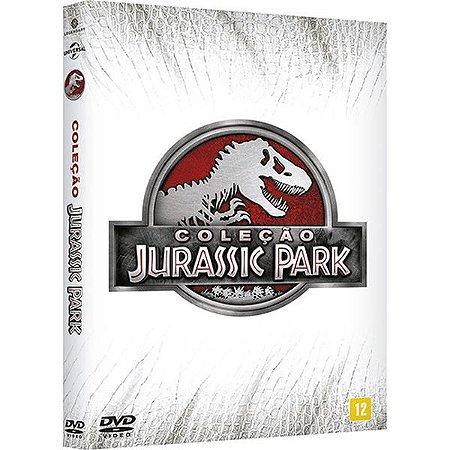 DVD Coleção Jurassic Park (4 DVDs)