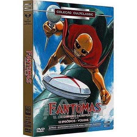 DVD BOX - Fantomas: O Guerreiro da Justiça Vol. 1 (3 Discos)