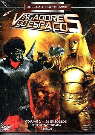 Dvd BOX Vingadores Do Espaço - Volume 2 (4 Dvds)