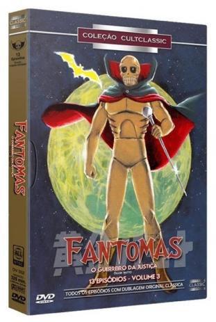 DVD BOX Fantomas - O Guerreiro Da Justiça - Vol. 3