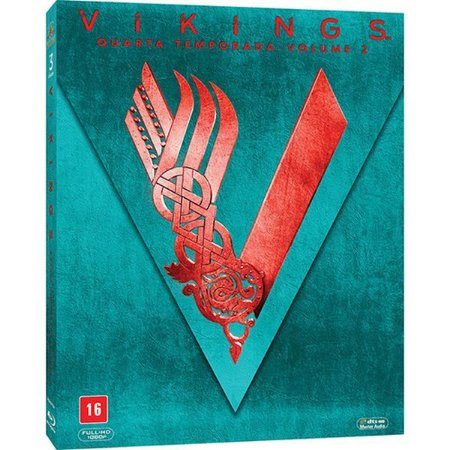 Blu-Ray Vikings - Quarta Temporada Vol 2 (3 Bds)