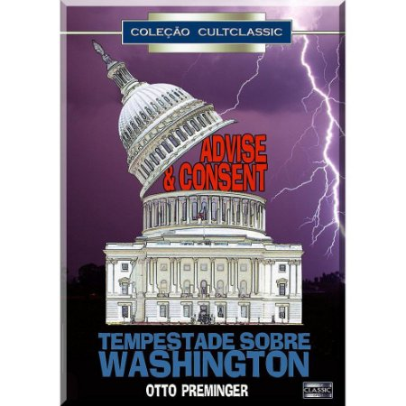 Dvd  Tempestade Sobre Washington  Otto Preminger