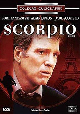 Dvd  Scorpio  Burt Lancaster
