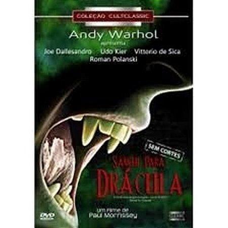 Dvd  Sangue Para Drácula  Andy Warhol