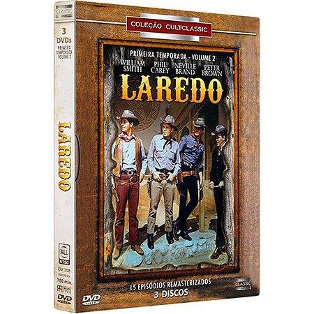 DVD BOX - Laredo: 1ª Temporada - Volume 2 (3 discos)