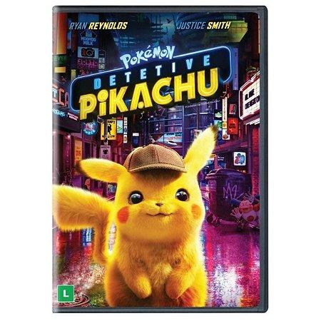 DVD POKÉMON DETETIVE PIKACHU