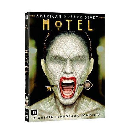 Dvd American Horror Story - Hotel - 5ª Temporada - 4 Discos