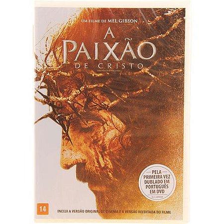 Dvd A Paixão De Cristo - Edição Especial Dublada