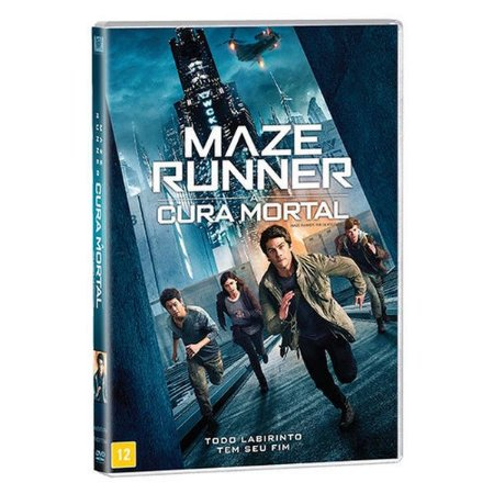 DVD - MAZE RUNNER - A CURA MORTAL
