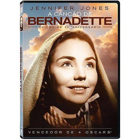 DVD - A CANCAO DE BERNADETTE