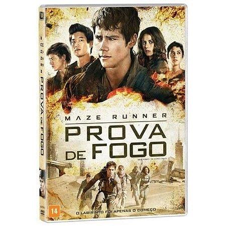DVD - MAZE RUNNER PROVA DE FOGO