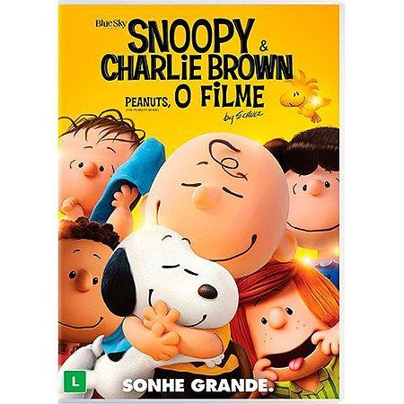 DVD  - SNOOPY E CHARLIE BROWN - PEANUTS O FILME