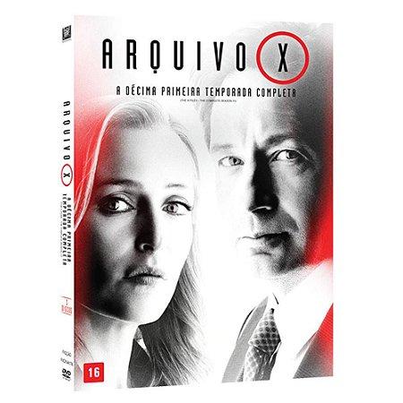 Dvd Arquivo X - 11 Temporada - 3 discos