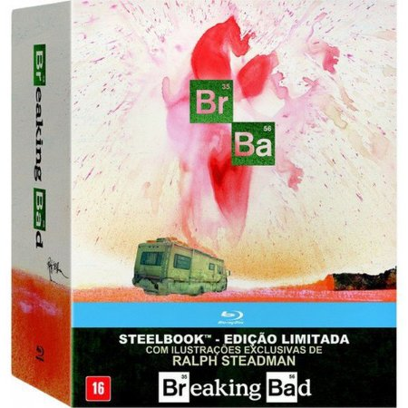 Steelbook Blu-Ray Breaking Bad - A Coleção Completa