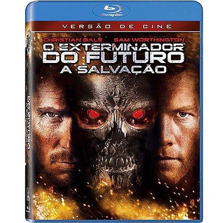 Blu-Ray O Exterminador Do Futuro 4 - A Salvação