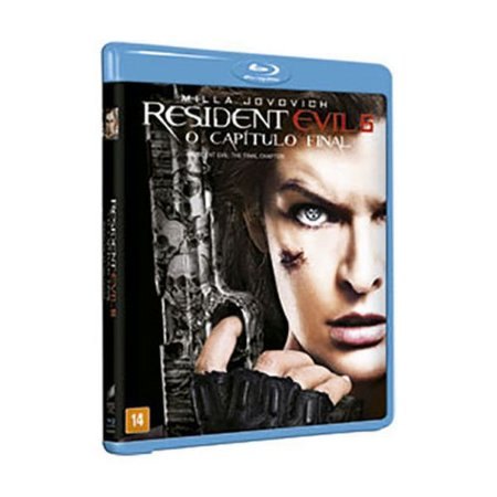 Blu-ray - Resident Evil 6 - O Capitulo Final