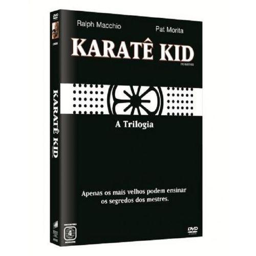 DVD - Trilogia Karate Kid - 3 Discos