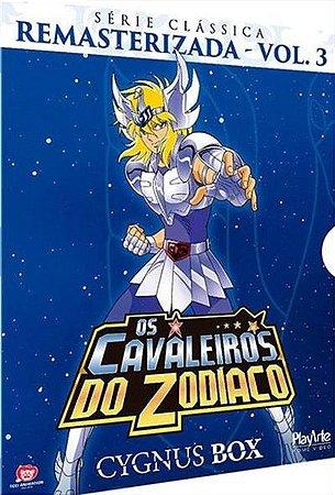 DVD BOX Os Cavaleiros Do Zodíaco - CYGNUS Clássica  V.3