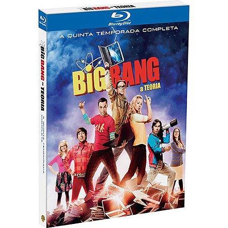 Box Blu-ray Big Bang: A Teoria - A Quinta Temporada Completa (3 Discos)