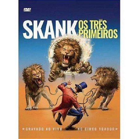DVD Skank Os Três Primeiros - Ao Vivo