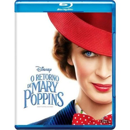 BLU RAY O Retorno De Mary Poppins
