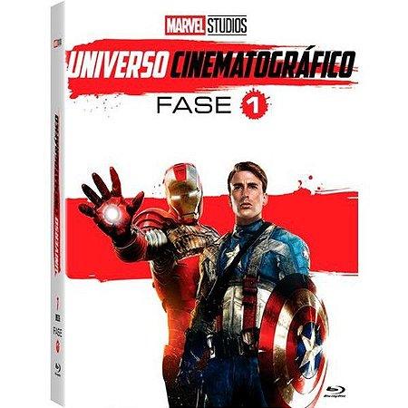 DVD BOX -  MARVEL UNIVERSO CINIMATOGRAFICO: FASE 1