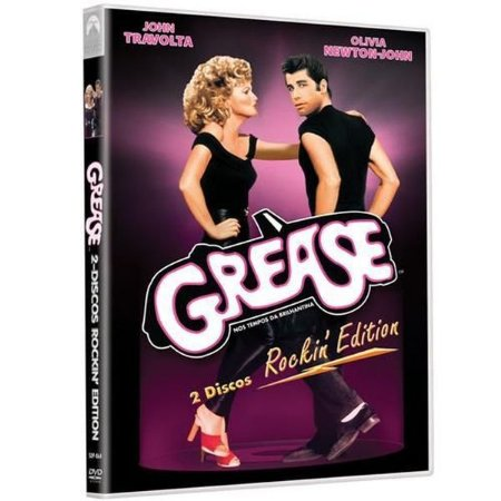 DVD Grease Nos Tempos Da Brilhantina Rockin' Edition 2 DVDs