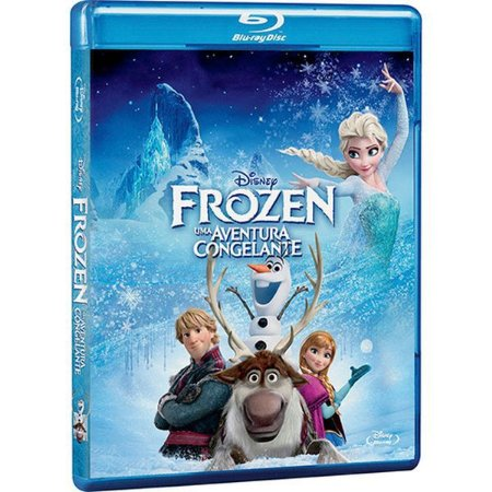 Blu-Ray - Frozen: Uma Aventura Congelante