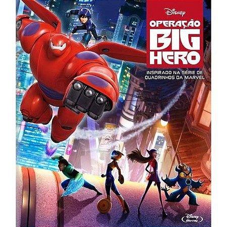 Blu Ray Operação Big Hero