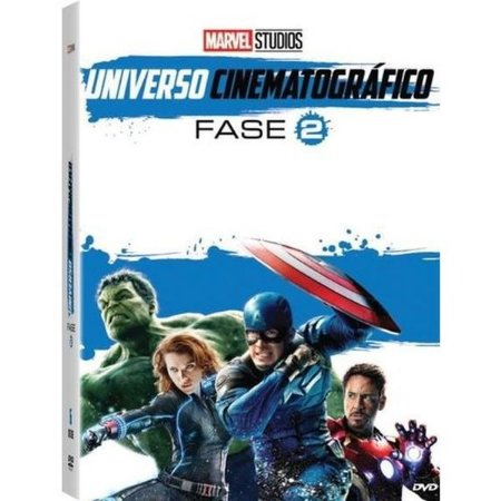 DVD BOX - MARVEL UNIVERSO CINEMATOGRÁFICO FASE 2