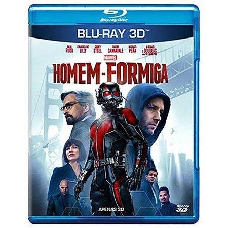 Blu-Ray 3d - Homem Formiga