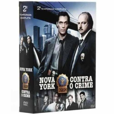 DVD NOVA YORK CONTRA O CRIME 2ª TEMPORADA (6 DVD'S)