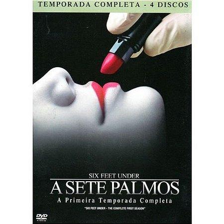 Box DVD - A Sete Palmos 1ª Temporada - 4 Discos