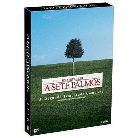 DVD A Sete Palmos - 2ª Temporada Completa (5 DISCOS)