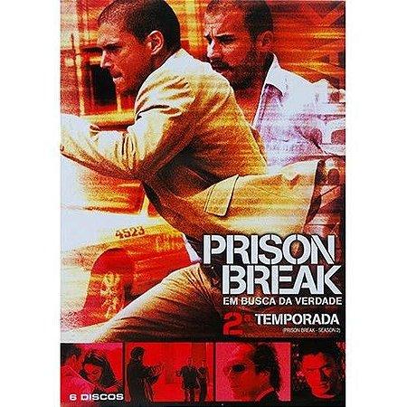 Dvd Box - Prison Break - Em Busca Da Verdade - 2ª Temporada Completa (6 Discos)