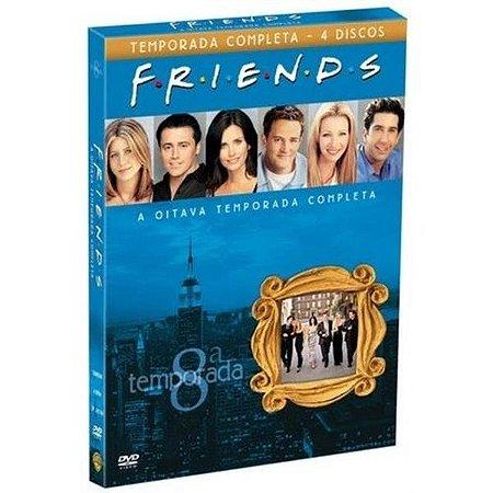 DVD Friends - 8ª Temporada (Box 4 DVDs)