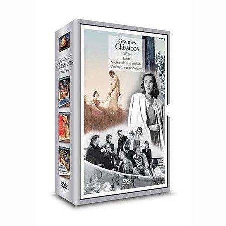 Box - 3 Dvds - Grandes Clássicos - Laura - Suplício - Um barco